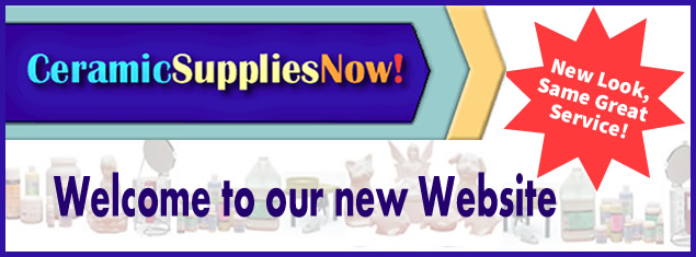 Ceramic Supplies Now - New Website